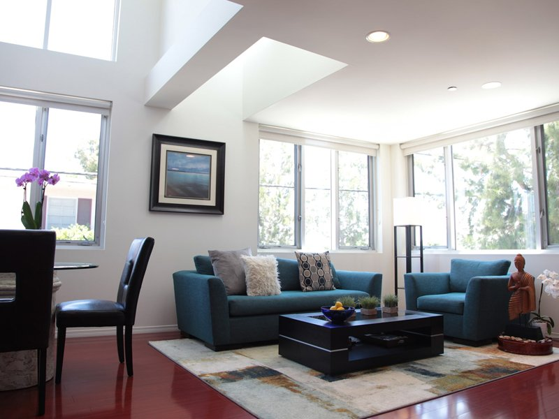 The Loft Living Area Medium